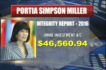 Portia Simpson Miller has Released a Decade's Worth of her Intergrity Report - Prime Time News - July 25 2016
