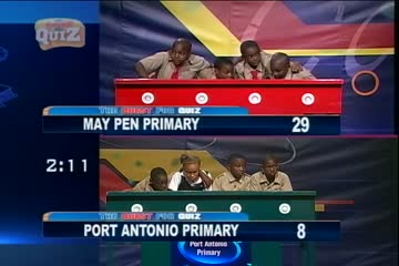 Quest For Quiz 2016 - July 4 2016 - May Pen Primary vs Port Antonio Primary - 00.25.18.18
