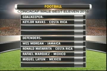 Reggae Boy Defender Makes The CONCACAF Best Eleven For 2016