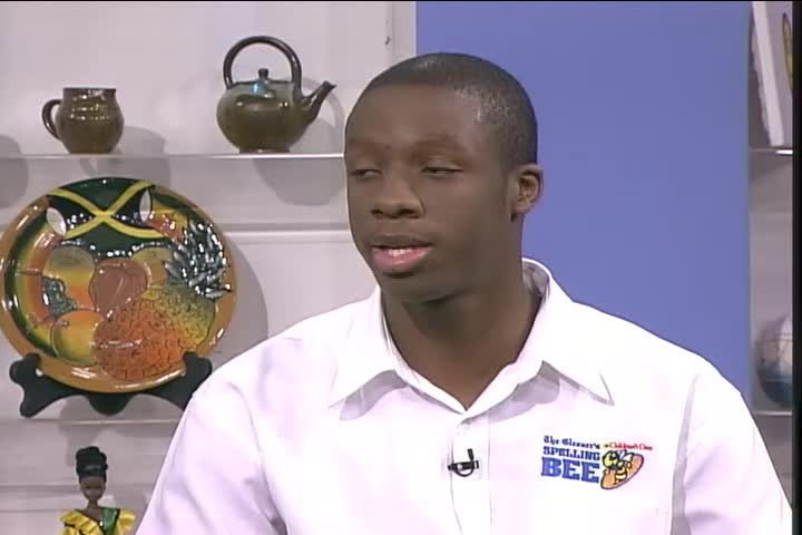 Smile Jamaica - February 8 2016 - 2016 Spelling Bee Champion - (Clip 1 of 3) - TVJ-WEB - 00.11.20