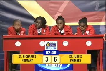 St. Richard's Primary vs St. Jude's Primary - 3rd Place Match
