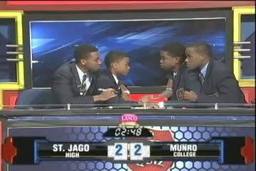 St. Jago High vs Munro College - Semi Finals