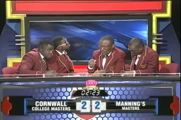 Cornwall College Masters vs Mannings Masters - Masters Match